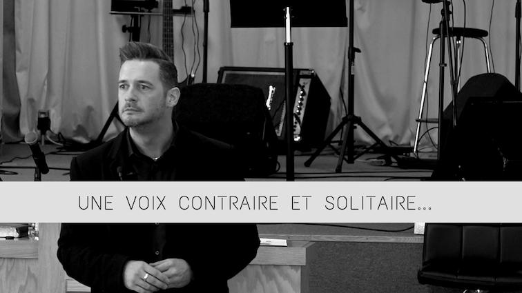 Une voix contraire et solitaire – Jean-Francois Denis