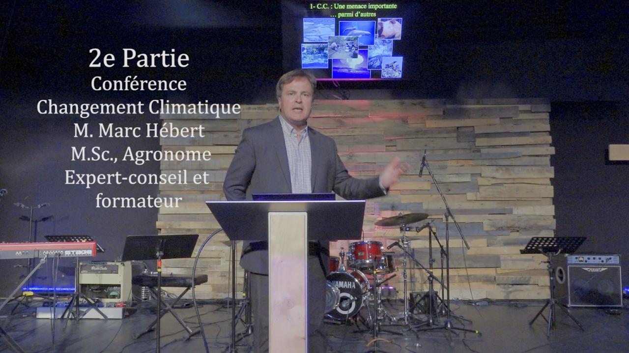 Conférence – Changement Climatique 2/2